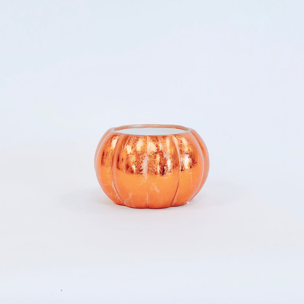 Copper Pumpkin Pot