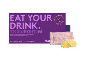 Eat Your Drink - The Night In - Alcoholic Cocktail Gummies