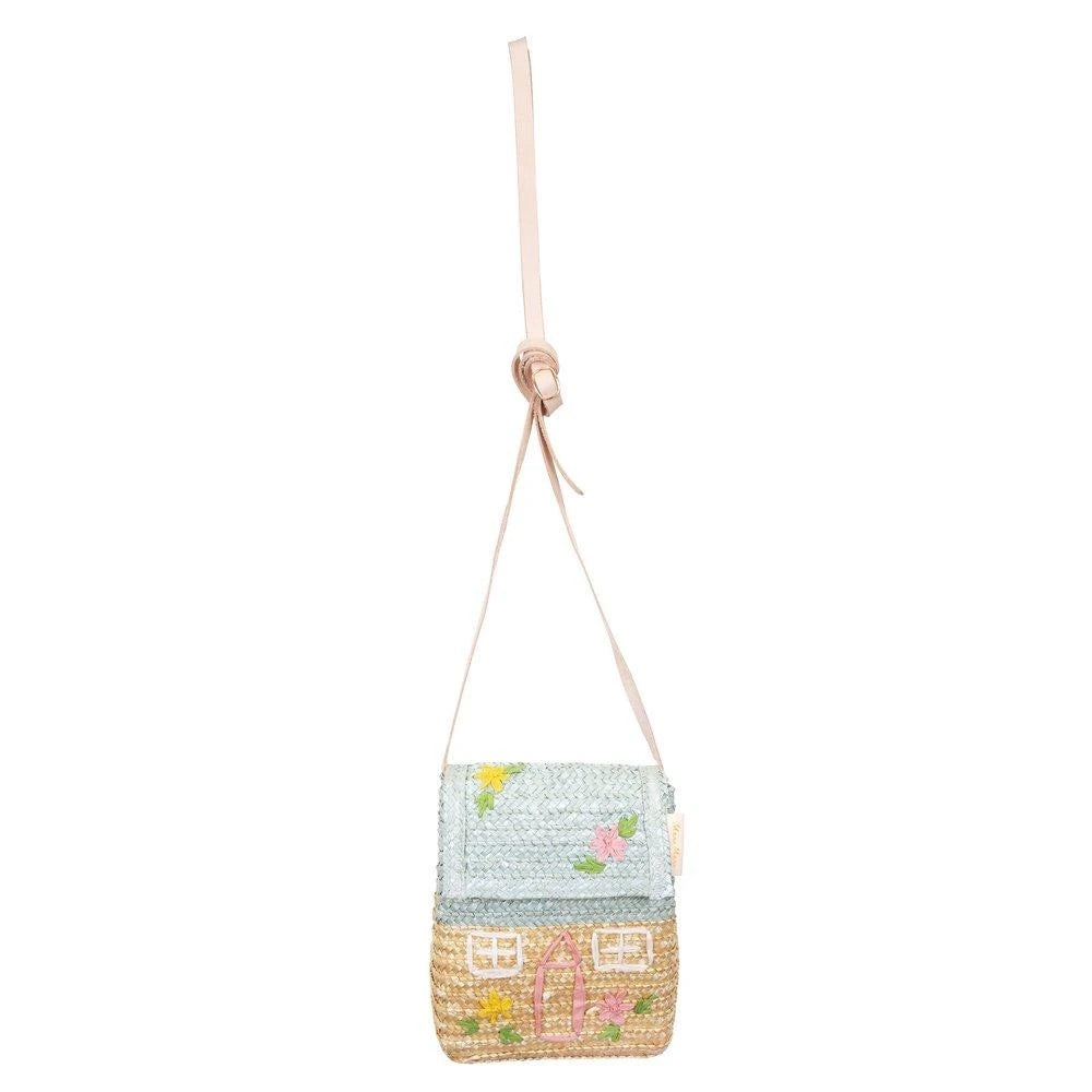 Load image into Gallery viewer, Cottage Straw Bag