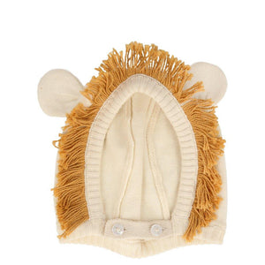 Load image into Gallery viewer, Lion Baby Bonnet