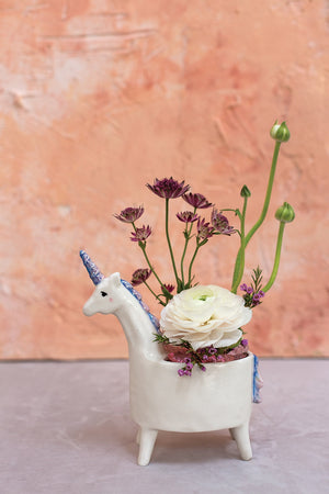 Load image into Gallery viewer, Lolly Unicorn Planter
