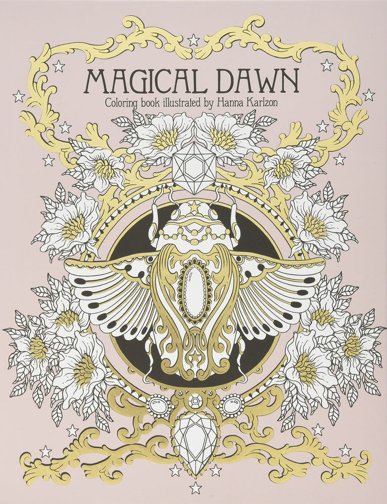 Load image into Gallery viewer, Magical Dawn Coloring Book by Hanna Karlzon
