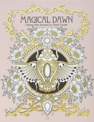Magical Dawn Coloring Book by Hanna Karlzon