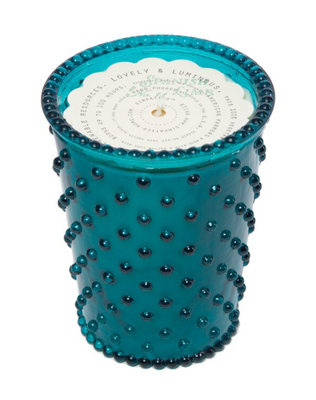 Hobnail Candle - Spanish Lime
