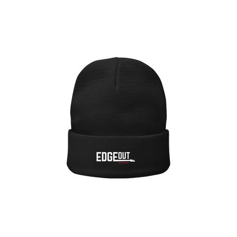 Black Edgeout Beanie