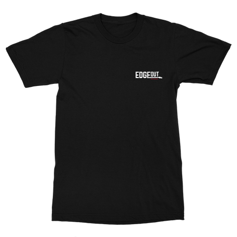 Black Edgeout T-Shirt (Pocket Hit)