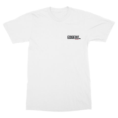 White Edgeout T-Shirt (Pocket Hit)