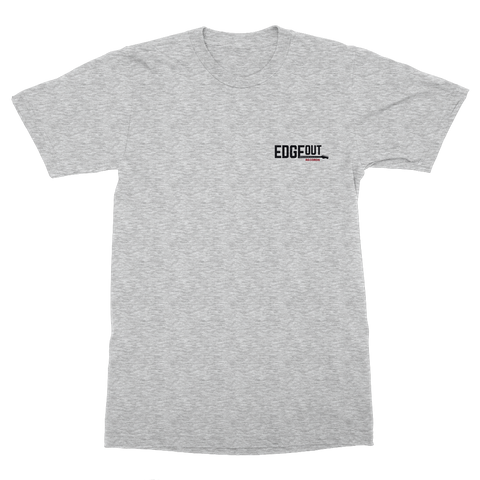 Grey Edgeout T-Shirt (Pocket Hit)