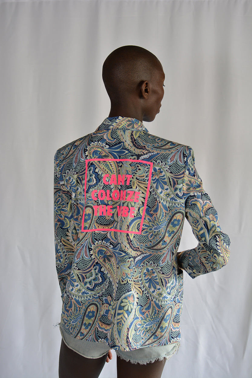 Multicolor Paisley Blazer | One Of One