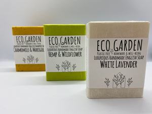 Wild Child Eco Garden Handmade Luxury Natural Soap and Shampoo Bar Set