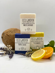 From Dawn Till Dusk Eco Garden Handmade Luxury Natural Soap and Shampoo Bar Set