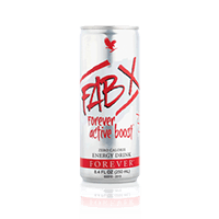 FAB X - FOREVER ACTIVE BOOST (12 CANETTES DE 250 ML) - MultiShop sàrl