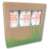 TRI-PACK ALOE PEACHES (3 X 1 Litres) - MultiShop sàrl