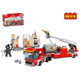fire rescue building block sets