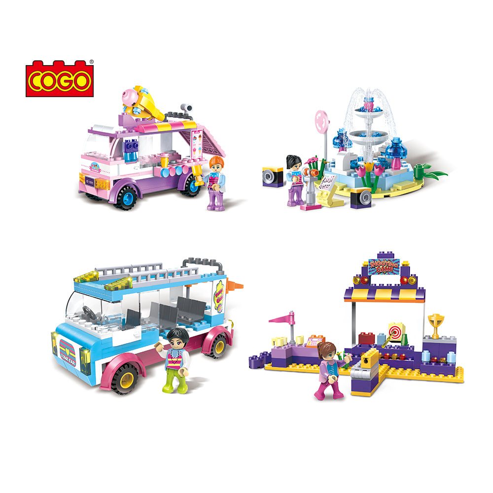 8 in 1 Girls educational building block-4
