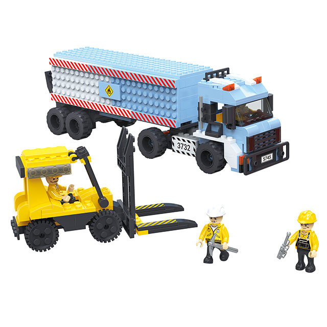 Popular engineering crane truck play toy-5