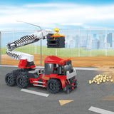 Creative free construction Crane car kids toys for gift-3