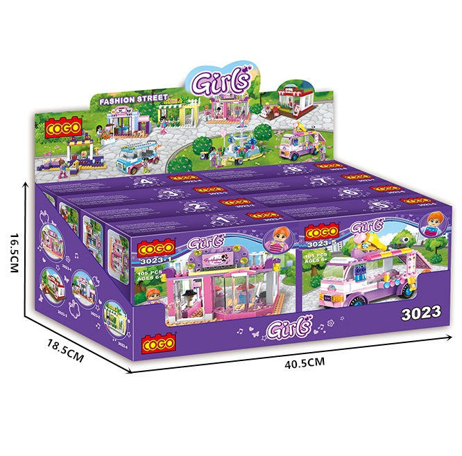girls gift play bricks set-4