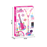 microphone toy for girl musical guitar toy-2