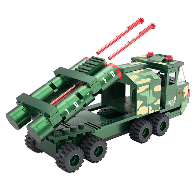 Military truck building block set-3
