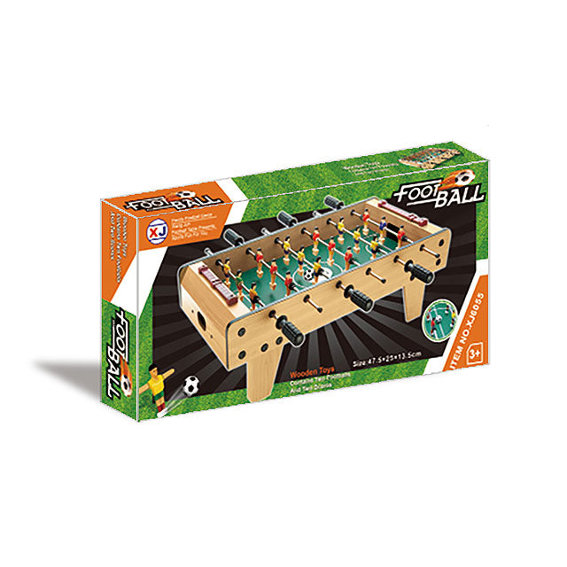 classic Wooden football soccer table kids game football table soccer game-2