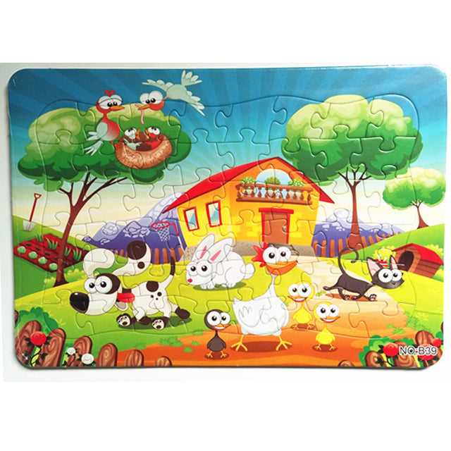 jigsaw puzzle for kid plain puzzle cartoon puzzle-1