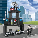 Educational brick police toy-2