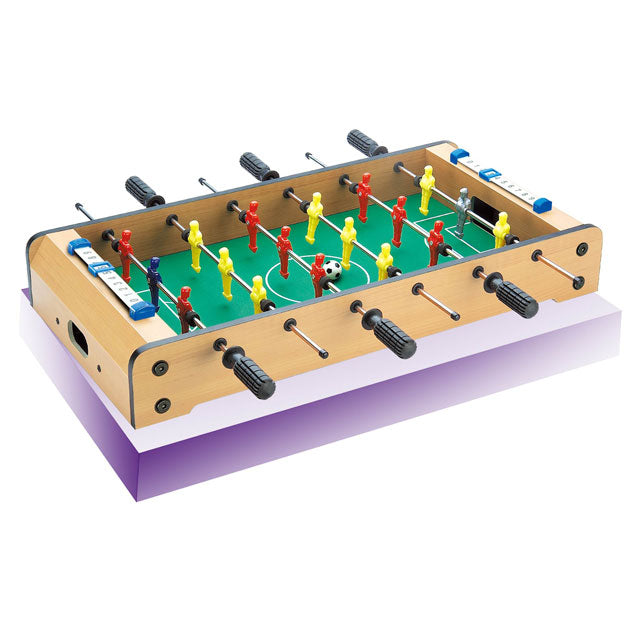 Wooden football soccer table indoor wooden foosball soccer game table toy-1