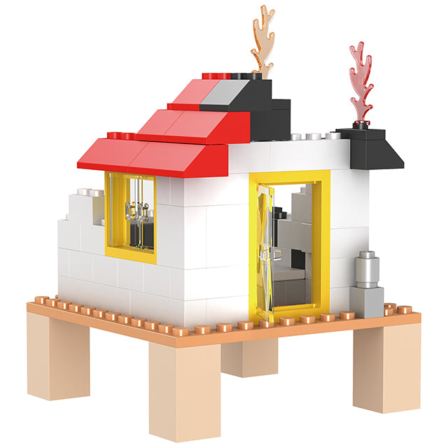 legoing city series building block toys-5