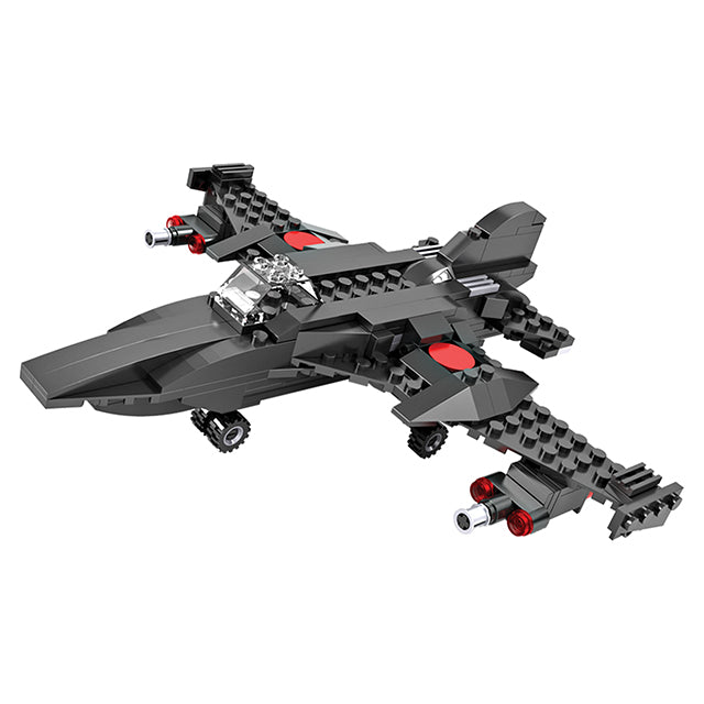Crestive 3 in 1 fighter airplane building bricks kids toys set for gift-3