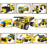Construction vehicle car Toy For Children-3