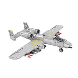 Military aircraft bricks toys-1