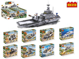 Army Carriage Model Building Blocks toys set for boys-5