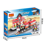 Legoing city play set building blocks-3