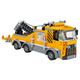 Car service repair building block toy-3