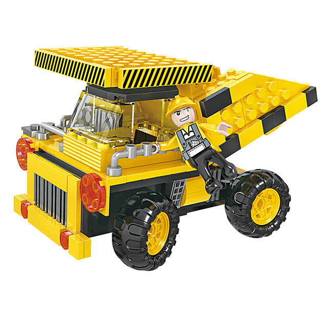 Popular 3 in 1 combination engineering crane truck play toy kit-2