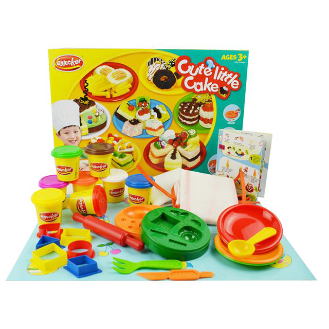 cake maker clay toys cake clay toy-1