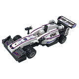 Popular boy style racing car building bricks toys kit-1