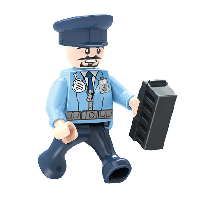 aBS police force blocks toy educational build blocks toys for kids-4
