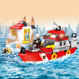 legoing city series building block toys-2