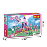 Princess party building block toys-6