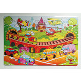 custom education puzzle toy children early learning puzzle-1