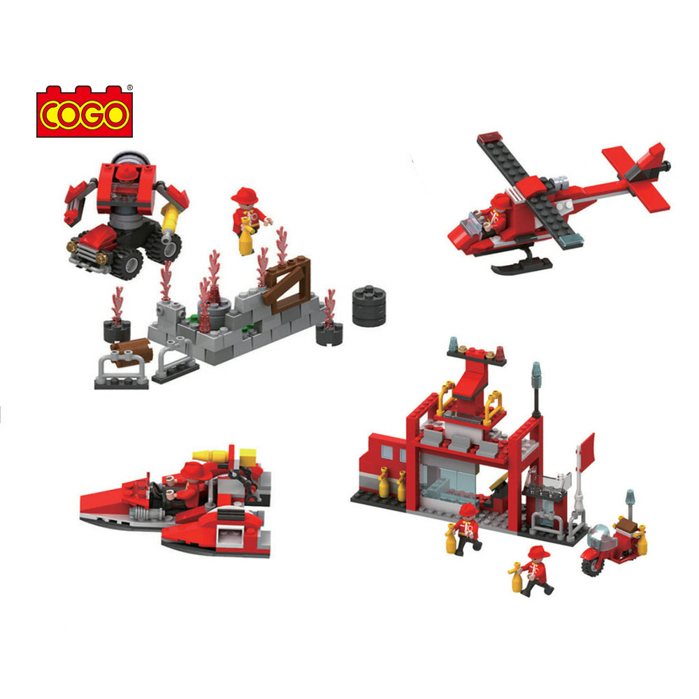 building fire station blocks toys fire-2