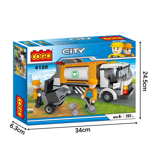 legoing city series brick toys-6