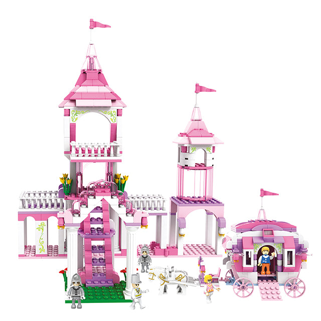 princess prince building block toys-1