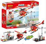 COGO fire series building block set-4