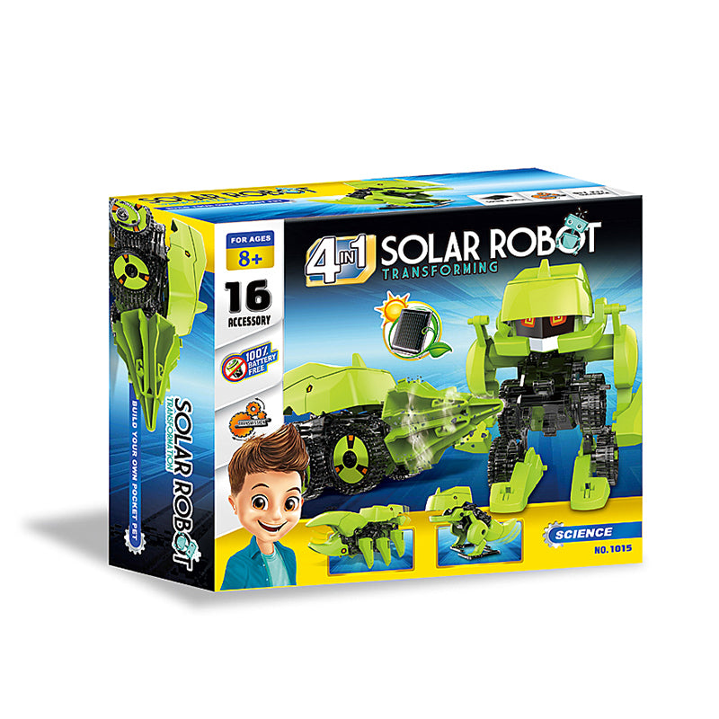 solar robot toys 4 in 1 solar robot educational solar robot-3