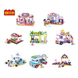 8 in 1 Girls educational building block-2