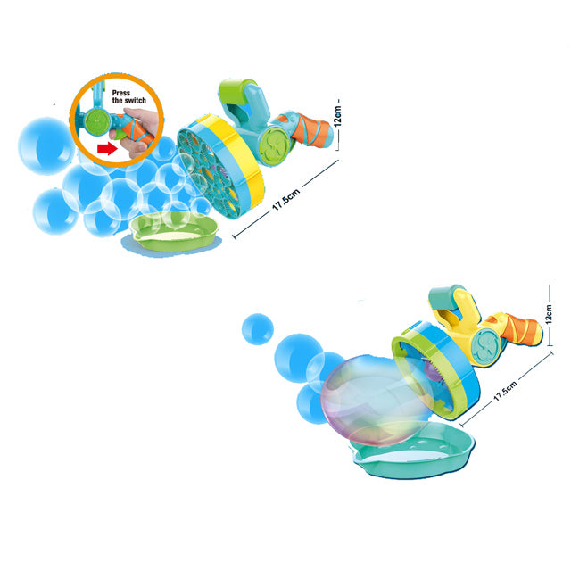bubble toy for child electric bubble gun toy-1