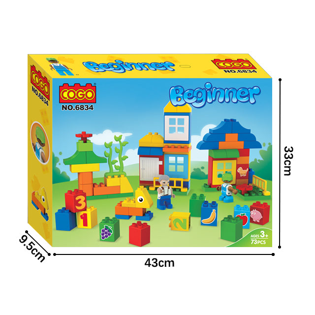 funny beginner play toy educational build block boys toys set-6